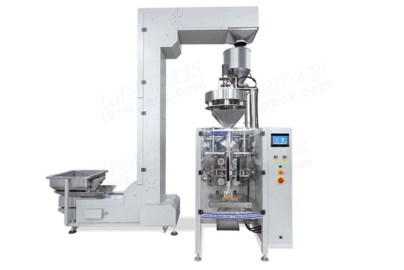 Automatic Vffs Packaging Machine With Volumetric Cup