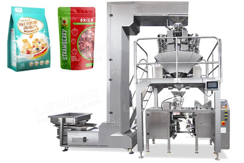 Low Cost Automatic Dried Fruit Premade Pouch Packing Machine