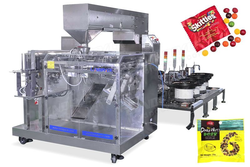 Automatic Mixed Dry Fruit Doypack Packing Machine