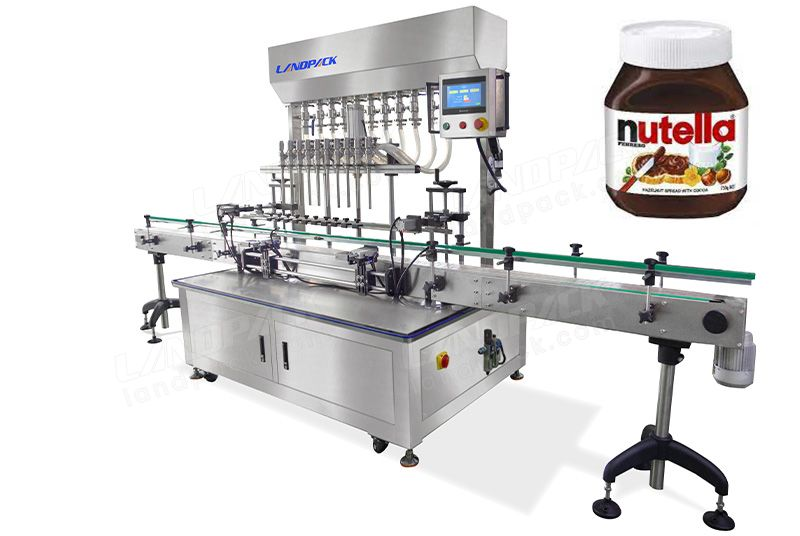Automatic Chocolate Sauce Bottles Filling Machine