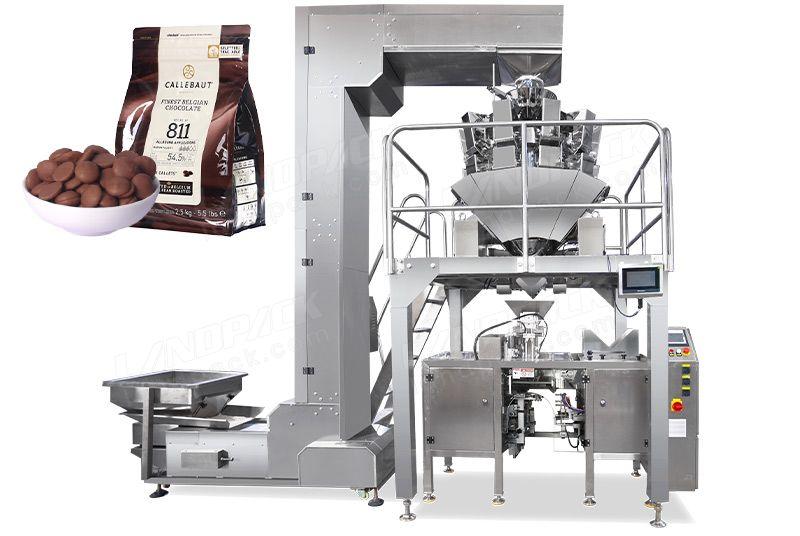Automatic Chocolate Beans Mini Doypack Machine LDB-300A