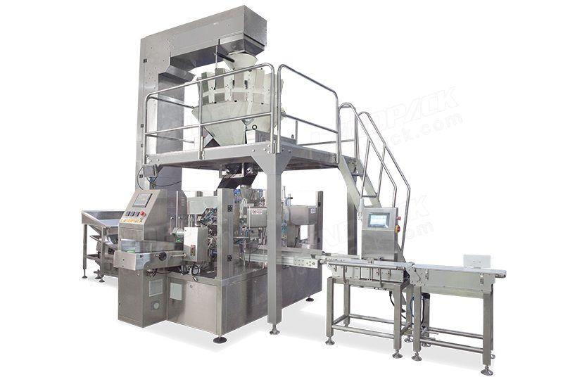 Automatic Snacks Doypack Machine LD-8200A