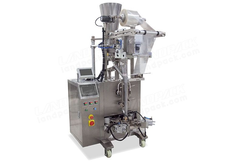 Automatic Triangle Bag Packing Machine For Snacks Beans Etc