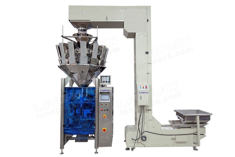 Low Cost All-In-One Snacks Weighing And Packing Machine LD-420Y