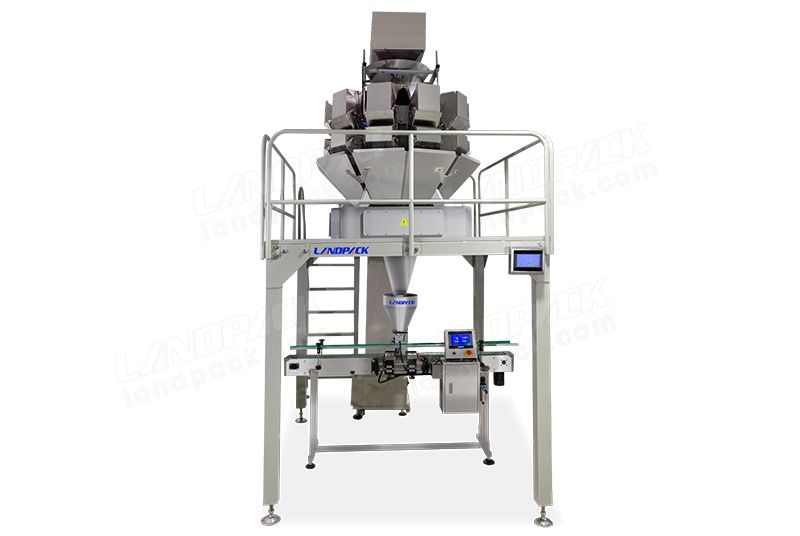 Automatic Snack Food Jar/ Bottles Filling Machine LF-ZP-008