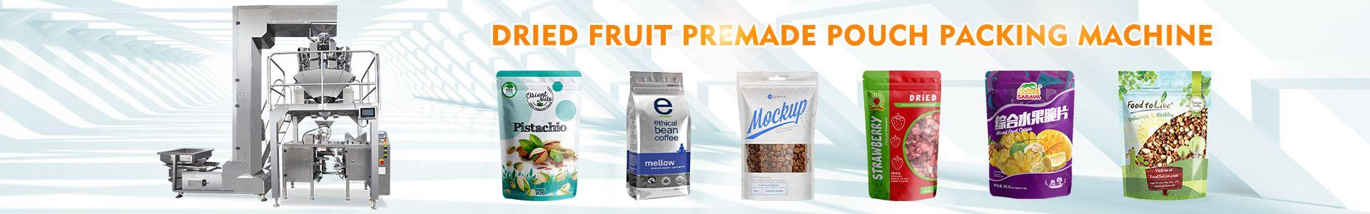 dry fruit packaging machine