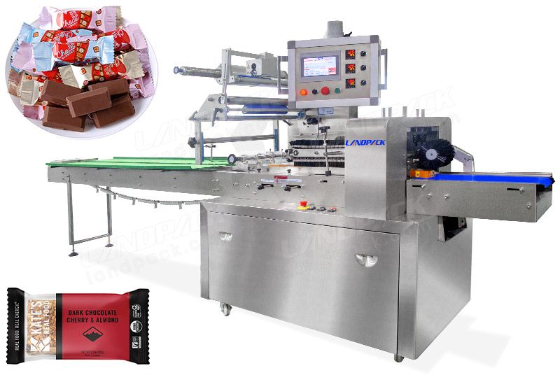Automatic Candy Bar Packaging Machine All 314 Stainless Steel