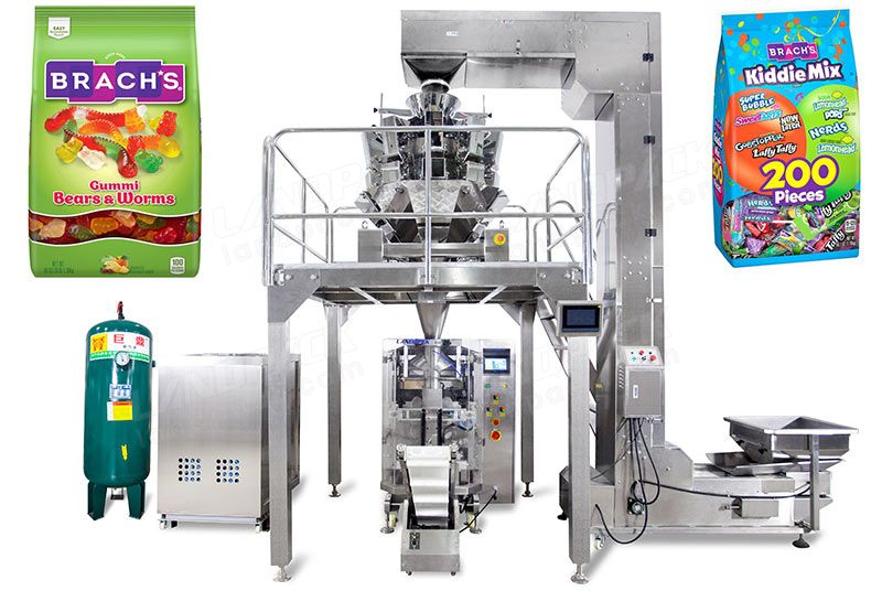 Automatic Candy Pouch Nitrogen-Filled Packing Machine