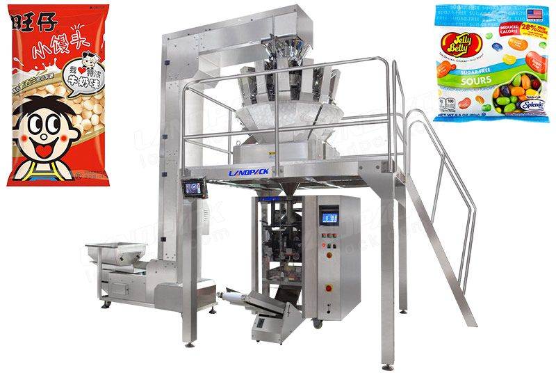 Automatic Candy Pouch Weighing Packing Machine LD-520A