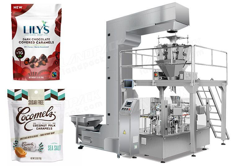 Automatic Candy Premade Pouch Packing Machine LD-8200A